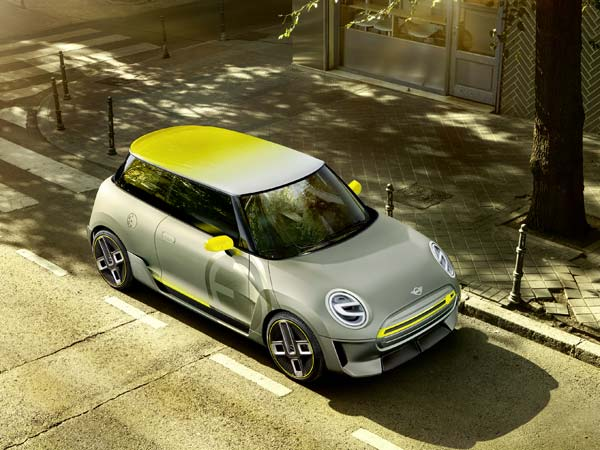 MINI Electric Concept Revealed Ahead Of Frankfurt Motor Show