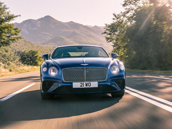 New Bentley Continental GT Revealed Ahead Of Frankfurt Debut