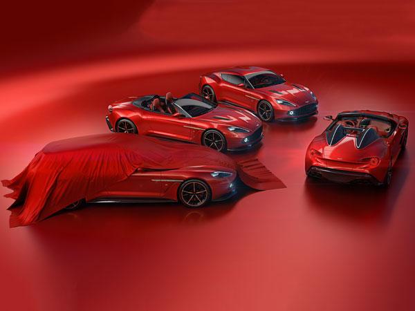 Aston Martin Vanquish Zagato Speedster Shooting Brake Revealed