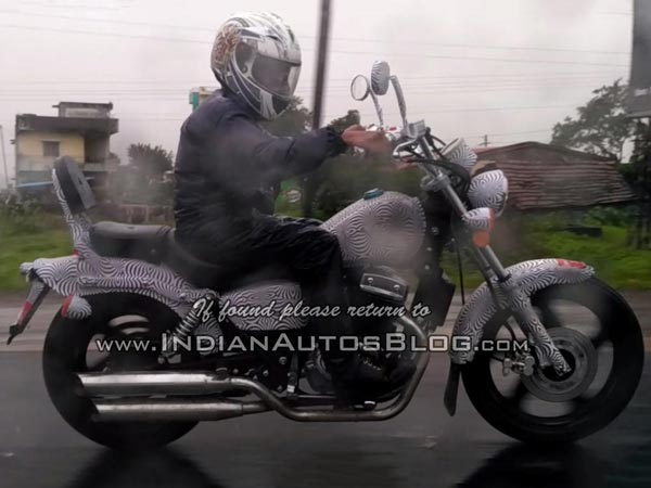 Spy pIcs: Benelli MotoBi-250 Spotted Testing In India