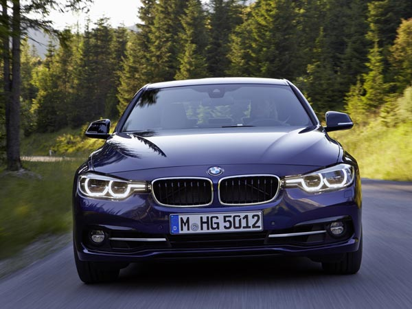 bmw 320d edition sport front view