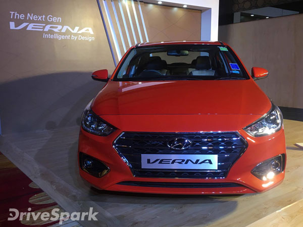 2017 Hyundai Verna Launched In Bangalore Launch Price Mileage