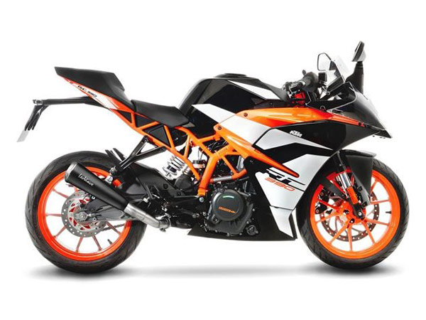ktm duke rc with leo vince gp one exhaust released