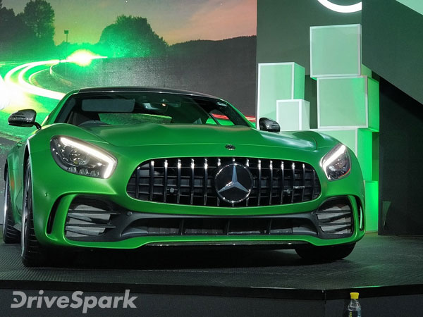 mercedes amg gt r india launch