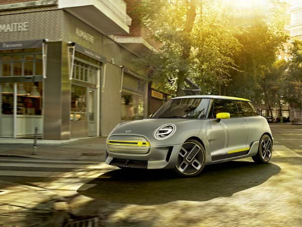 Mini Electric Concept Revealed