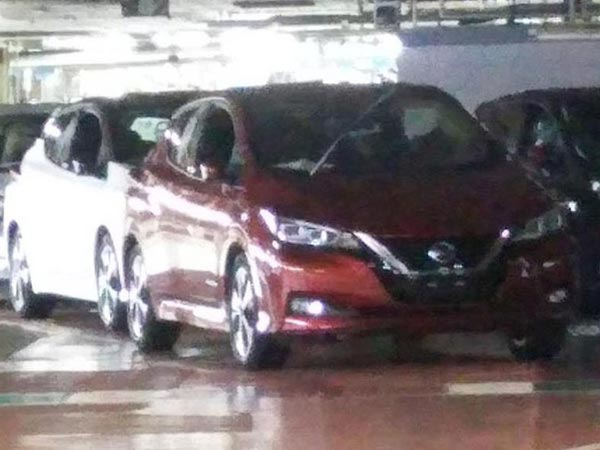 New Nissan Leaf Images Leaked Ahead Of Debut