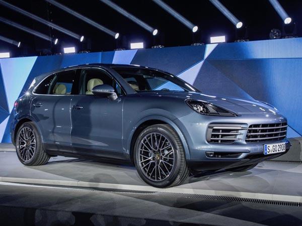 Porsche Cayenne Revealed Images Specs More Details
