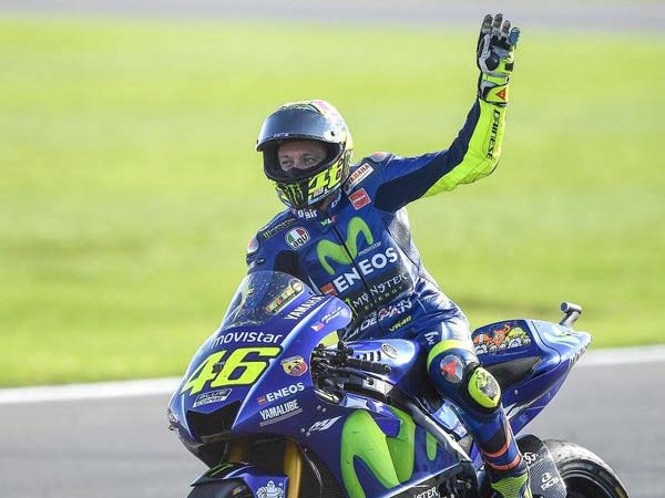 Valentino Rossi Injured In A Training Accident