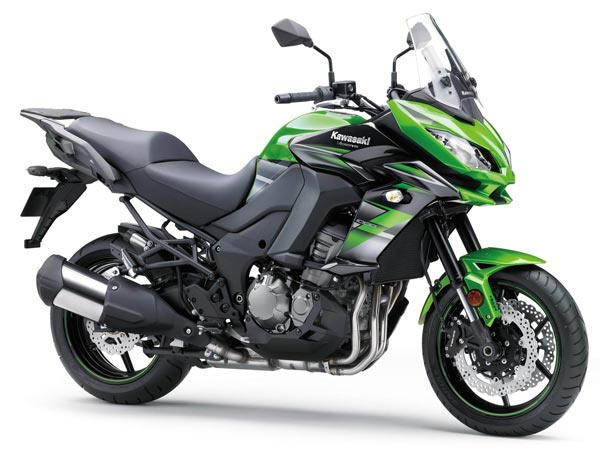 Kawasaki Launches New Colour Options For 2018 Motorcycle Range