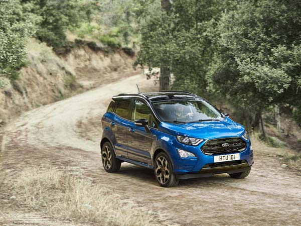 Ford Ecosport Facelift Set To Dazzle In Frankfurt Ahead Of India Launch