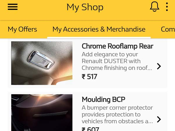 renault india launches my renault app drivespark news. Black Bedroom Furniture Sets. Home Design Ideas