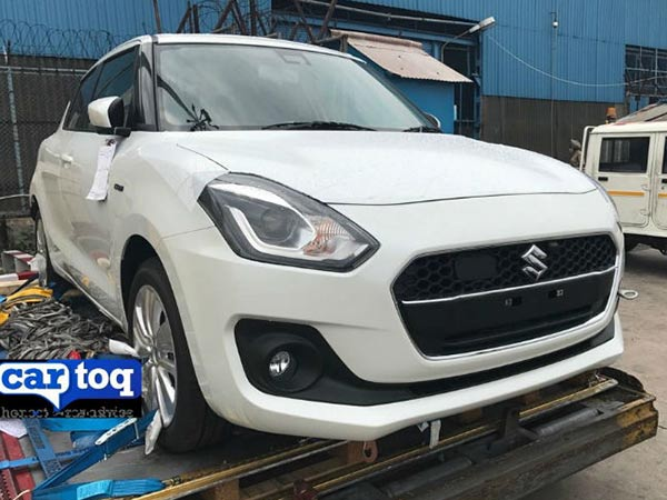 Spy Pics: Next-Generation Maruti Swift Spotted In India