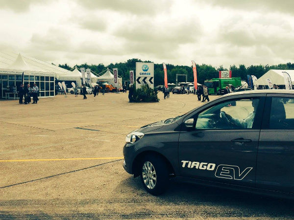 Tata Tiago Electric Vehicle Revealed Ahead Of Debut