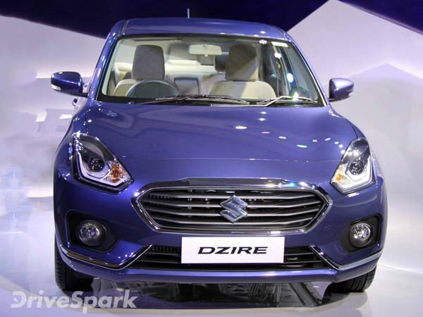 Best-Selling Cars In August 2017: Maruti Dzire Sedan