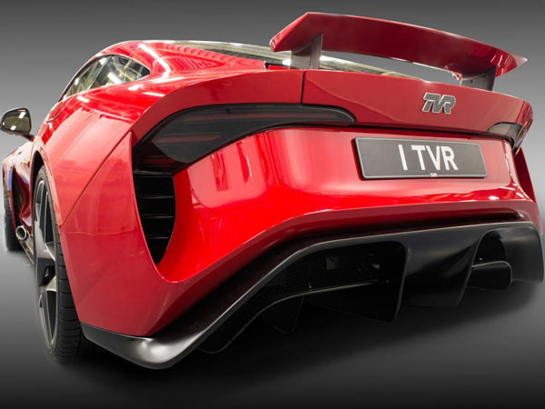 TVR Griffith Revealed At 2017 Goodwood Revival