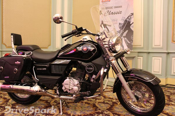 UM Motorcycles Launch Renegade Commando Mojave And Classic In Bangalore