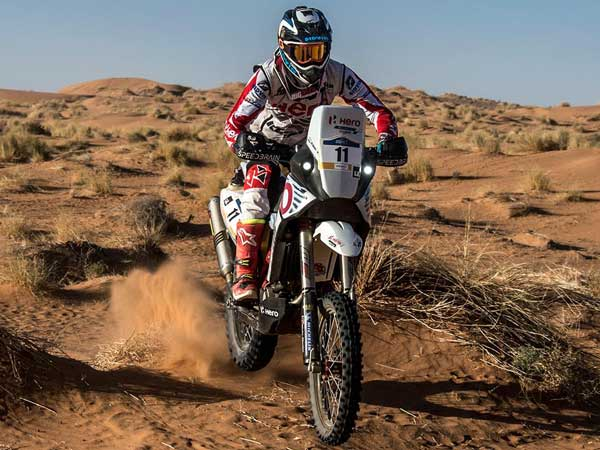 Spanish Rider Oriol Mena Joins Hero MotoSports Team Rally