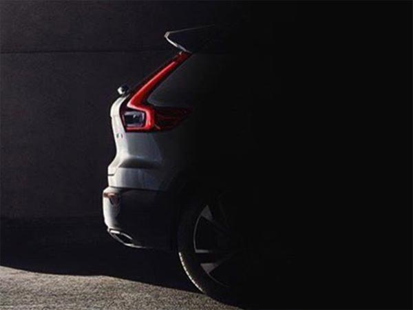 Volvo XC40 Teased; Reveal Date Confirmed