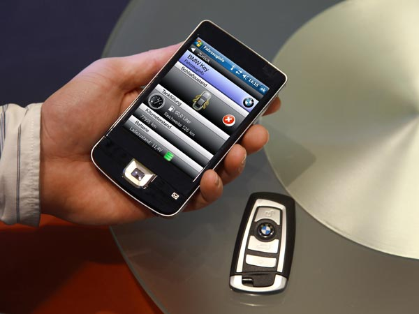bmw car keys might be replaced by mobile phone apps drivespark news. Black Bedroom Furniture Sets. Home Design Ideas