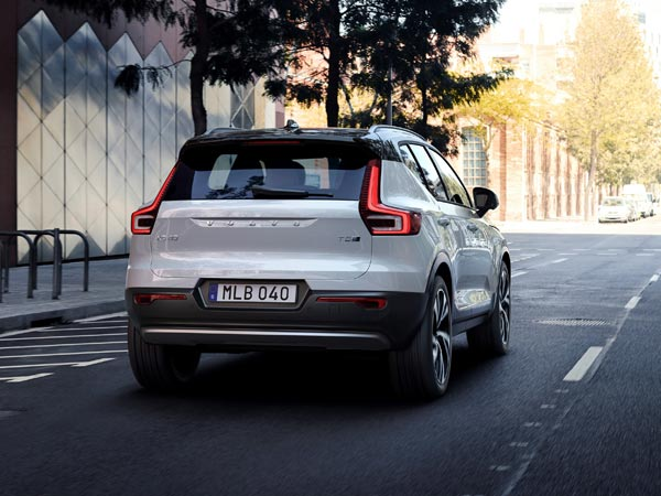 India-Bound Volvo XC40 Premium Small SUV Revealed