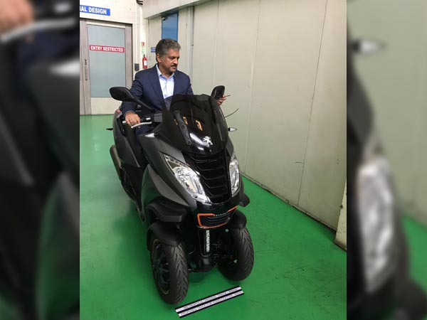 Mahindra Working On Electric Scooter For India