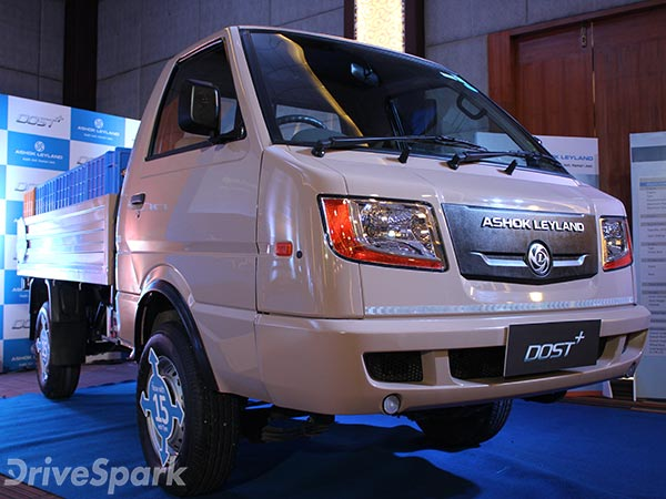 Ashok Leyland Dost Plus Launched In Bangalore At Rs 5.68 Lakh