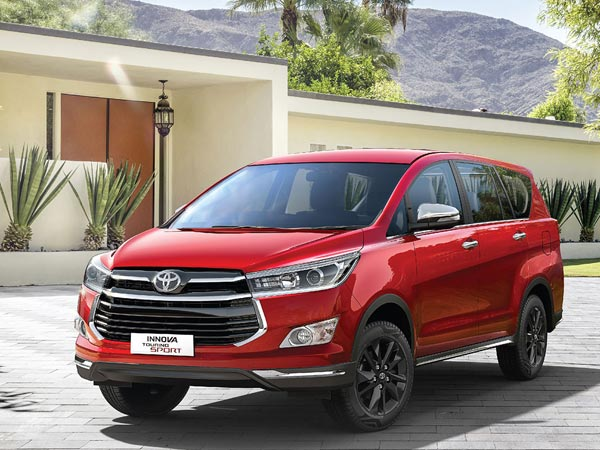 Toyota Innova Crysta Touring Sport Updated With A 6-Speed Manual Gearbox