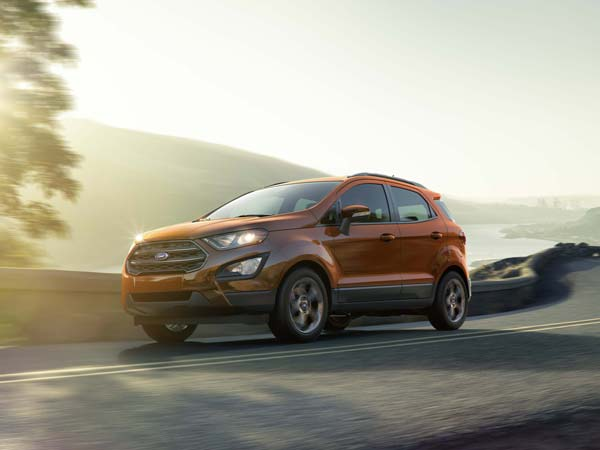 Ford EcoSport Facelift India Launch Details Revealed