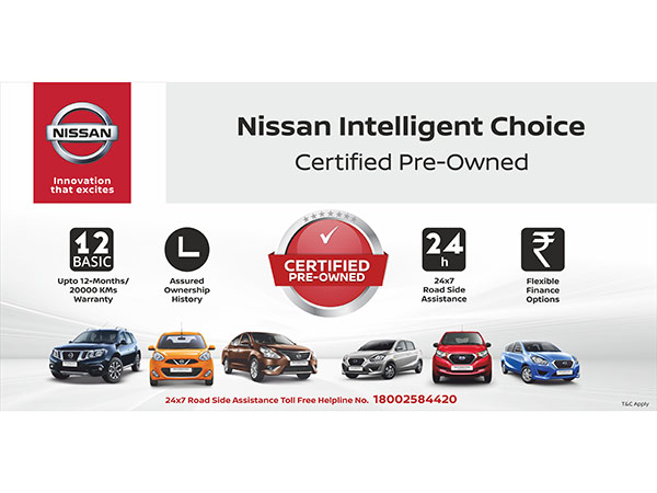 Nissan Enters Pre-Owned Car Business; Launches Nissan Intelligent Choice
