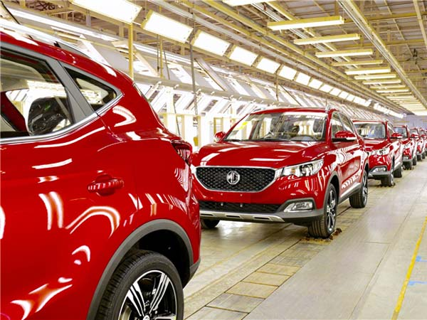 MG Motor Inaugurates Its First Manufacturing Plant In India