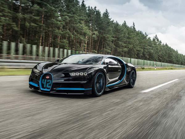 Bugatti Chiron Sets World Record Montoya