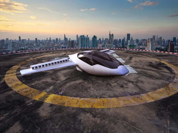 flying taxi company lilium