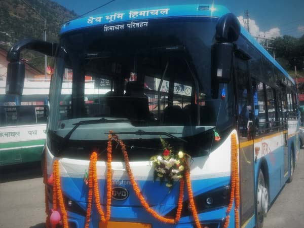 Goldstone Electric Bus Launched In India; Flagged Off By Himachal Roadways