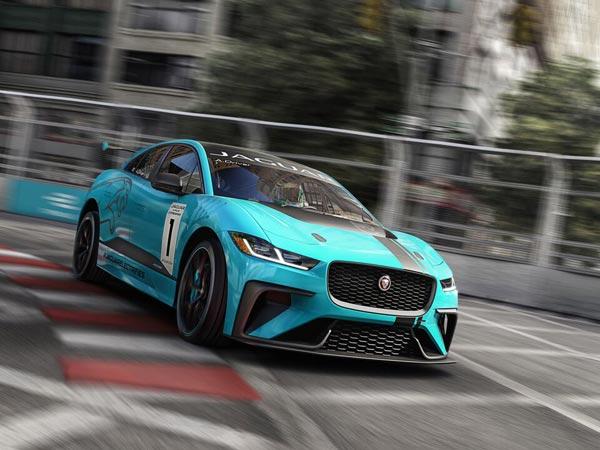 Jaguar I Pace E Trophy Racing Series Launched Frankfurt Motor Show