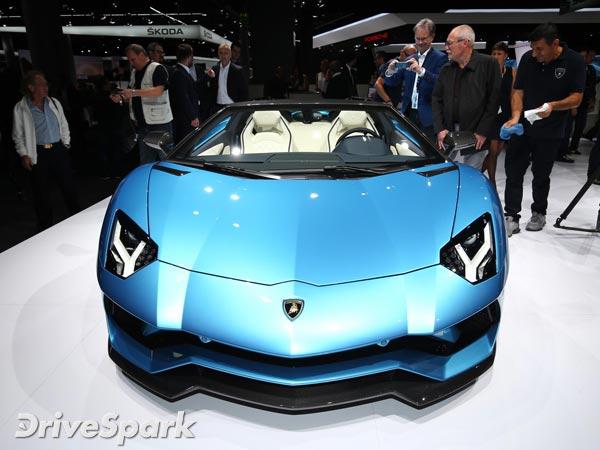 Lamborghini Aventador S Roadster Bookings Open In India Drivespark
