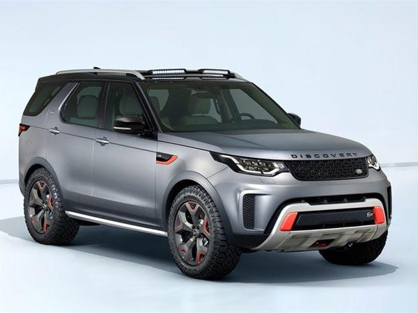 Land Rover Discovery Svx Revealed At Frankfurt