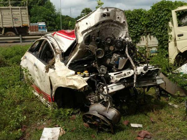 Fiat Punto Abarth Driver Escapes Unhurt After Brutal Crash Nmc1