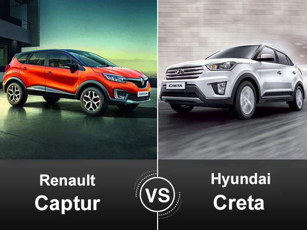 renault captur vs hyundai creta comparison on specifications price features drivespark news. Black Bedroom Furniture Sets. Home Design Ideas