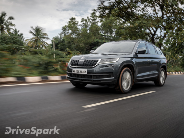 Skoda Kodiaq Launched In India At Rs 34,49,501