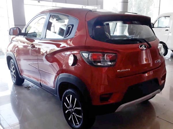 Mahindra KUV100 NXT Revealed In India Ahead Of Launch