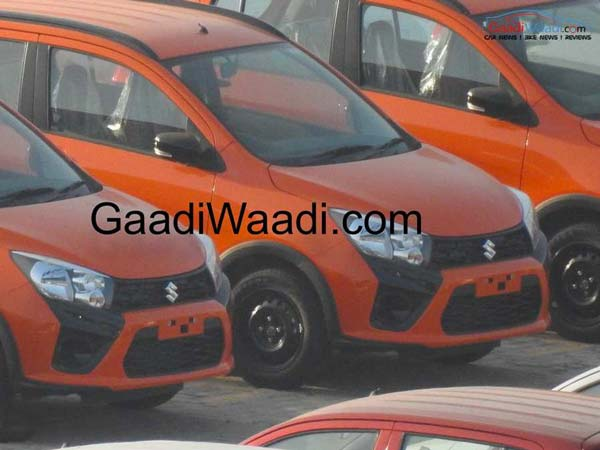 Spy Pics: Maruti Celerio X Spotted Ahead Of Launch