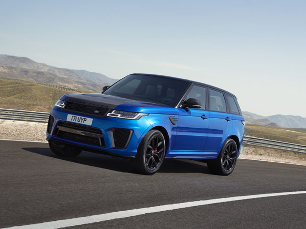 New Range Rover Sport SVR And Plug-In Hybrid Revealed