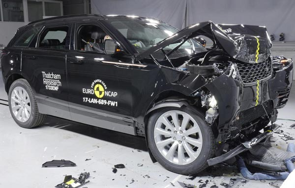 Range Rover Velar Receives 5-Star Euro NCAP Rating; India Launch Soon
