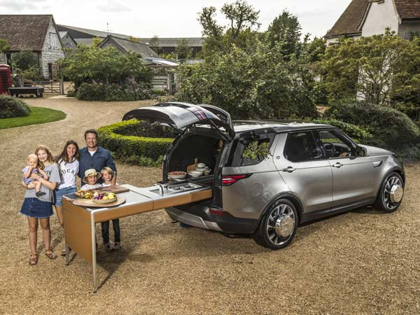 Jamie Oliver's Bespoke Land Rover Discovery Is The Ultimate Kitchen On Wheels