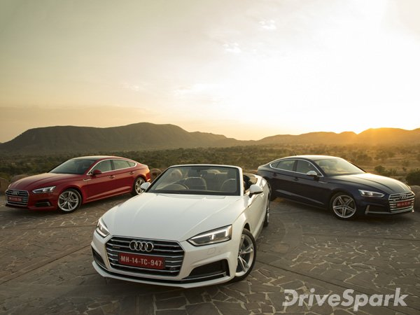 Audi A5 Family Launched In Bangalore At A Starting Price Of Rs 54.02 Lakh