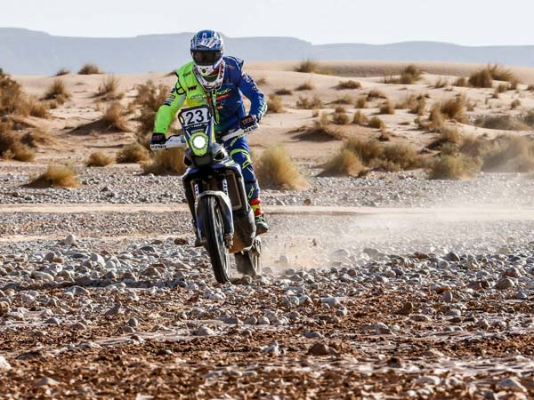 OiLibya Rally Of Morocco: CS Santosh And Aravind KP Record Strong Result