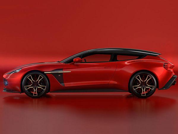 Aston Martin Vanquish Zagato Shooting Brake Revealed Drivespark News