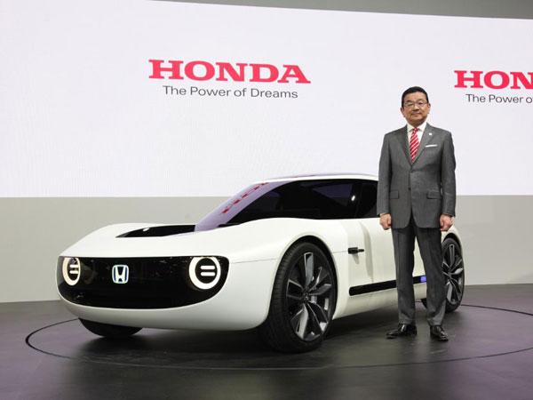 2017 Tokyo Motor Show Honda Sports Ev Concept Revealed