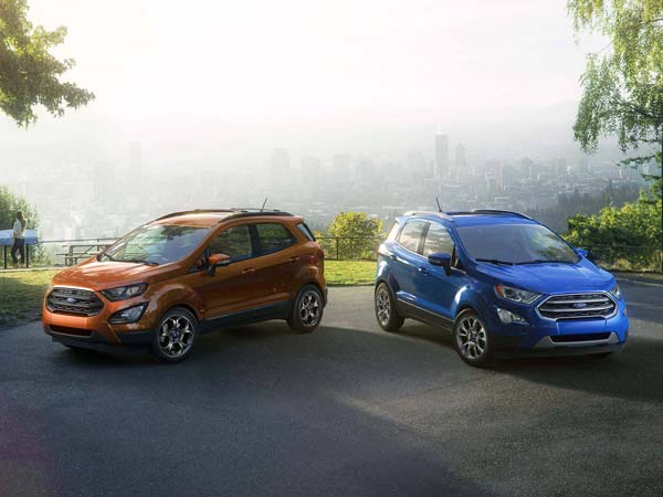 Ford Ecosport Facelift Variants Explained In Detail