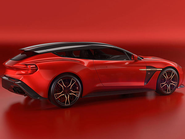 Aston Martin Vanquish Zagato Shooting Brake Revealed
